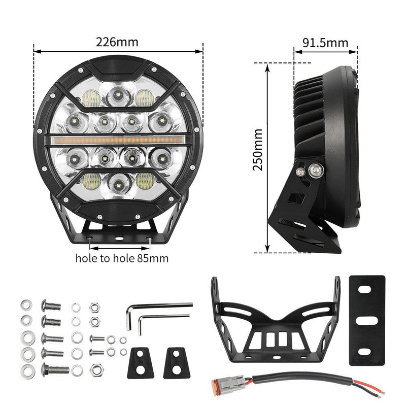 9inch LED Driving Lights - Factory Direct Oz