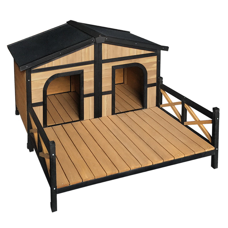 i.Pet Extra Large Double Dog Kennel - Factory Direct Oz