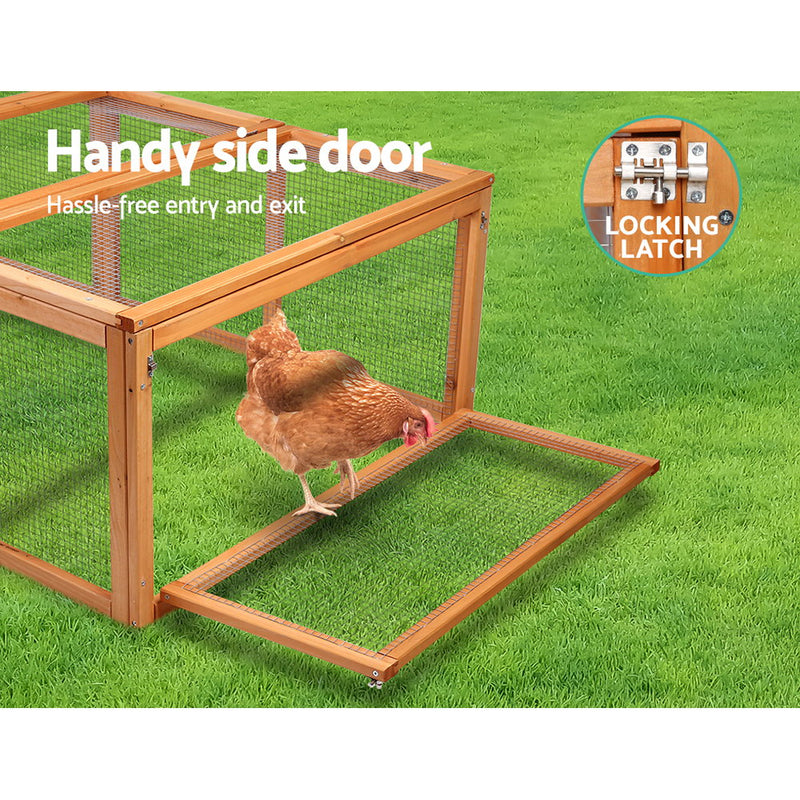 i.Pet Rabbit Hutch/Chicken Coop - Factory Direct Oz