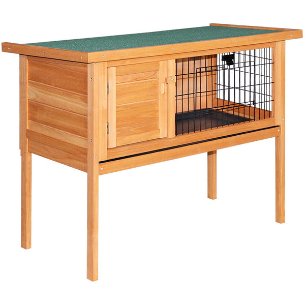i.Pet 70cm Rabbit/Guinea Pig Hutch with Slide out Tray - Factory Direct Oz