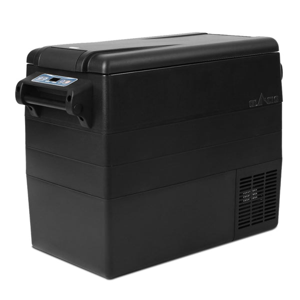 Glacio 55L Portable Fridge & Freezer - Black - Factory Direct Oz