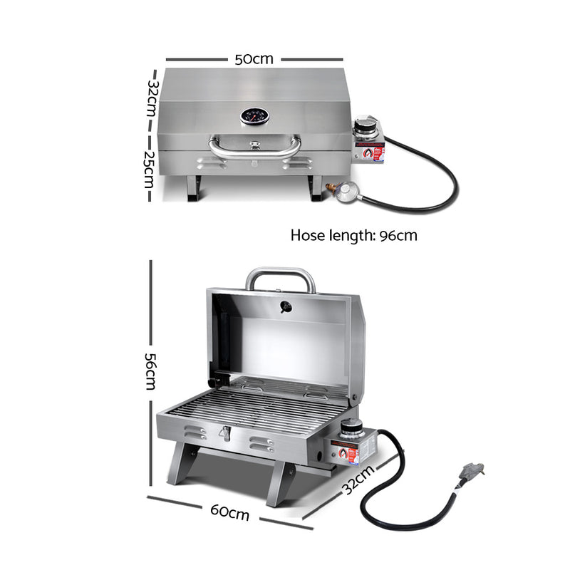 Portable Gas BBQ Grill - Factory Direct Oz