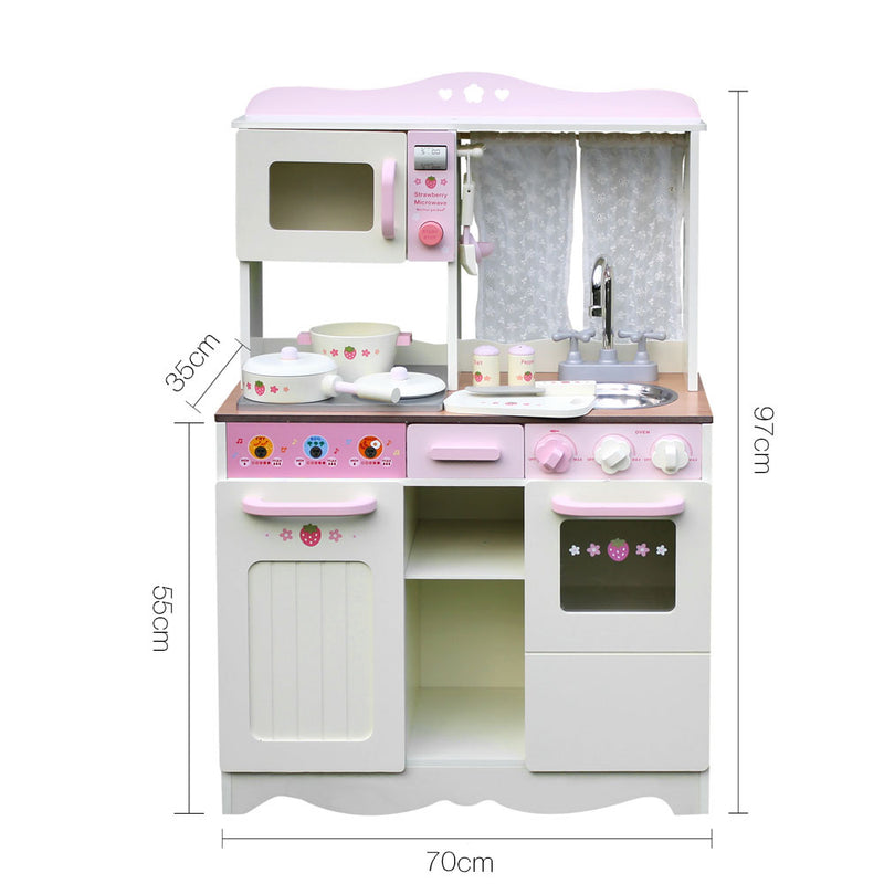 Kids Kitchen Play Set - Off White - Factory Direct Oz
