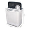 Devanti 5KG Mini Portable Washing Machine - White - Factory Direct Oz