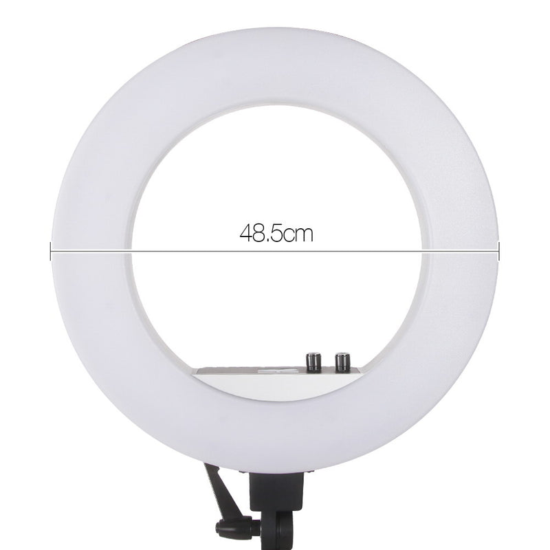 "Embellir 19"" 5600K LED Ring Light With Stand - Factory Direct Oz"