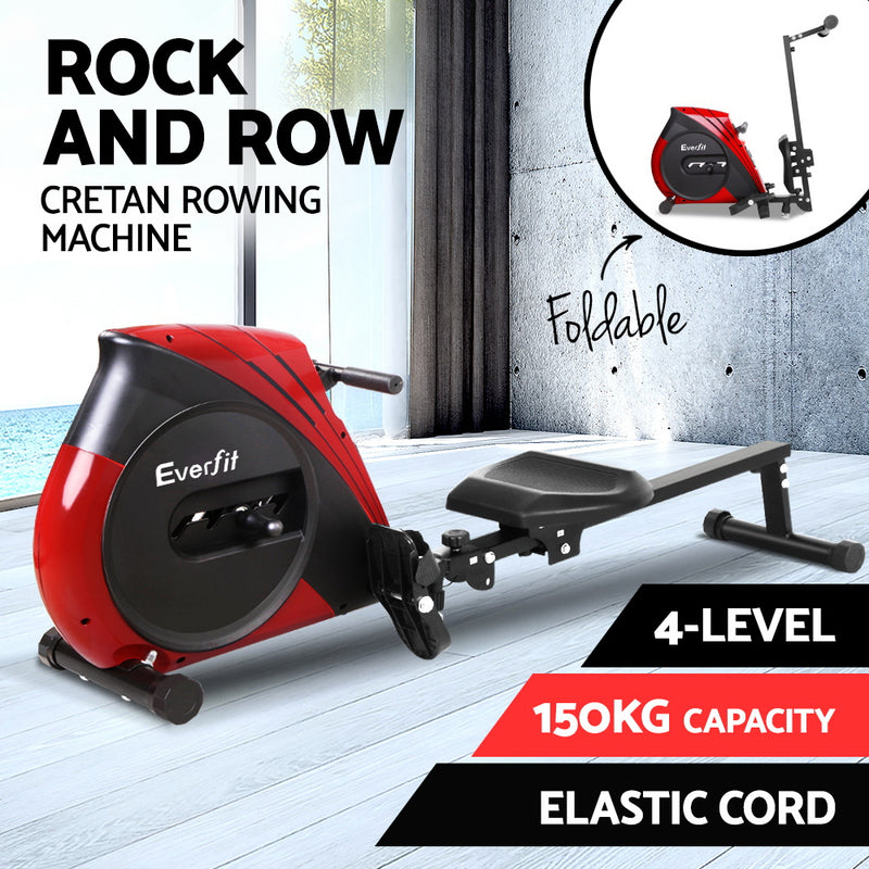 Everfit 4 Level Rowing Machine - Factory Direct Oz