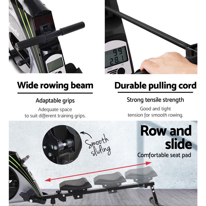 Everfit Resistance Home Rowing Machine - Factory Direct Oz