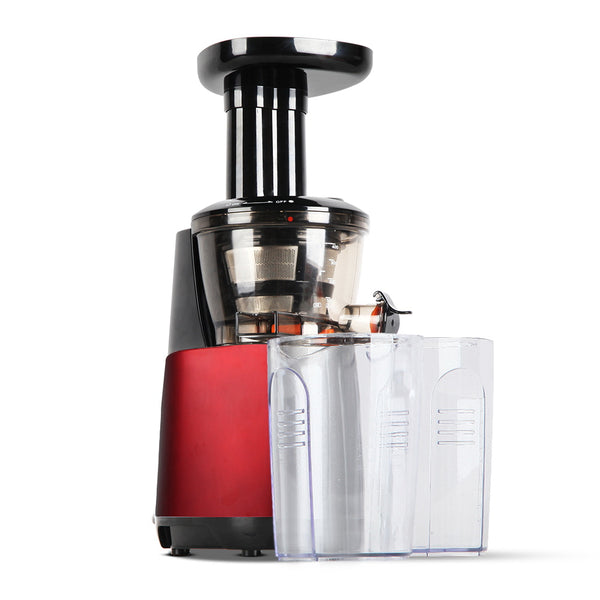 Cold Press Juicer - Red - Factory Direct Oz