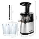 Cold Press Juicer - Silver - Factory Direct Oz