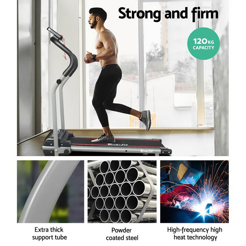 Everfit Home Electric Treadmill - Black - Factory Direct Oz