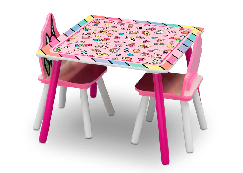 Table and Chairs - Rainbow Dreams - Factory Direct Oz