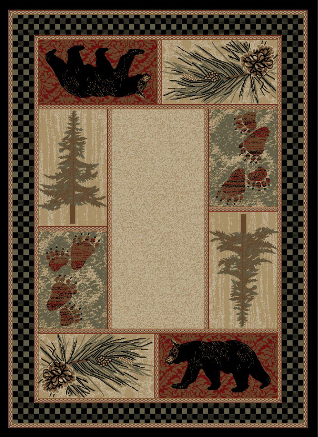 CADES COVE 4 X 6 RUG-Rustic Ranch