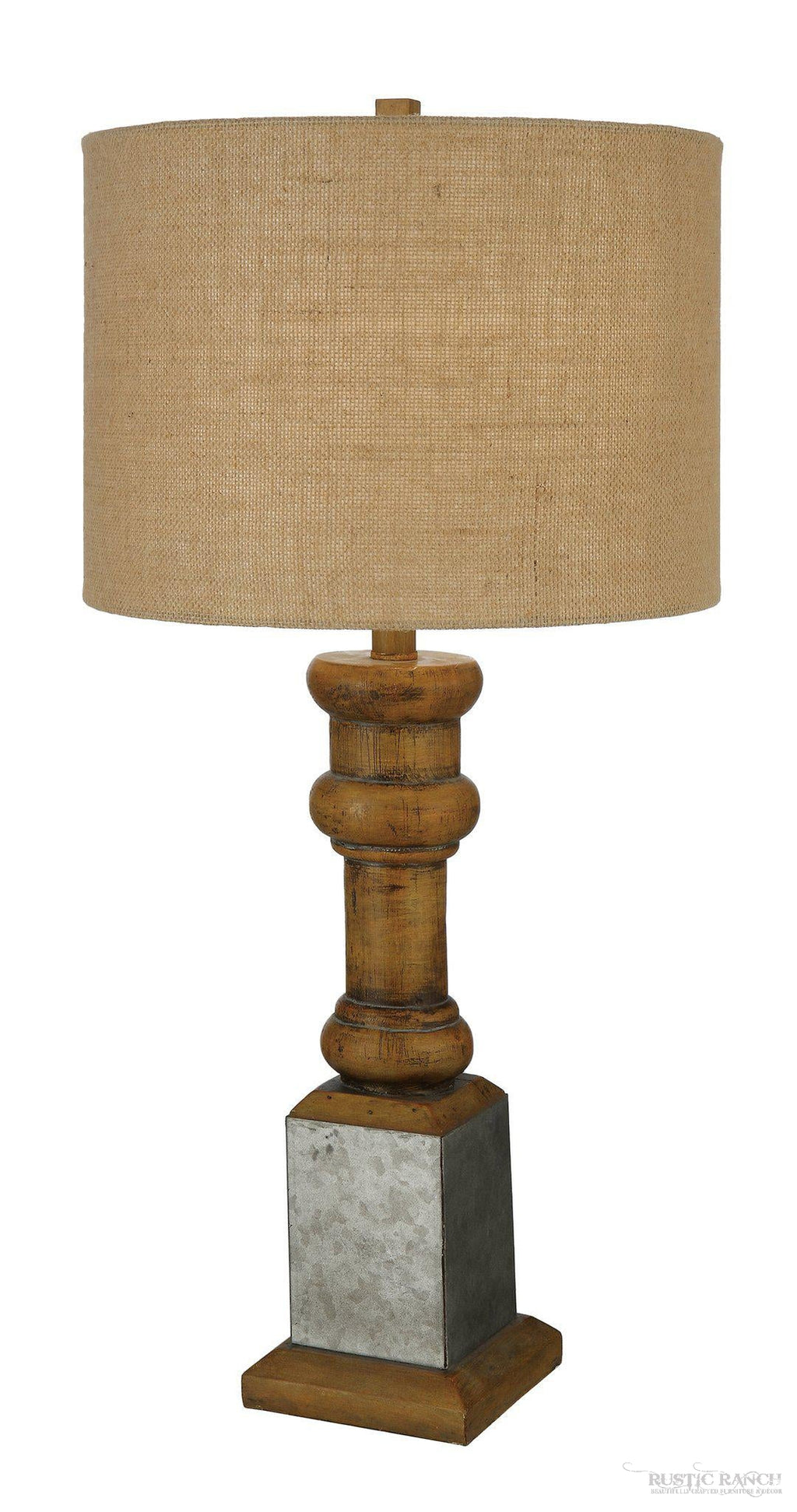 HEIRLOOM TABLE LAMP-Rustic Ranch
