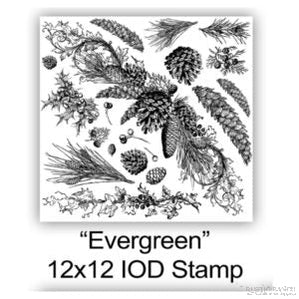 EVERGREEN DECOR STAMP-Rustic Ranch