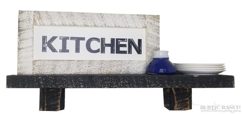 ROUGH CUT SHELF - 5 COLOURS-Rustic Ranch
