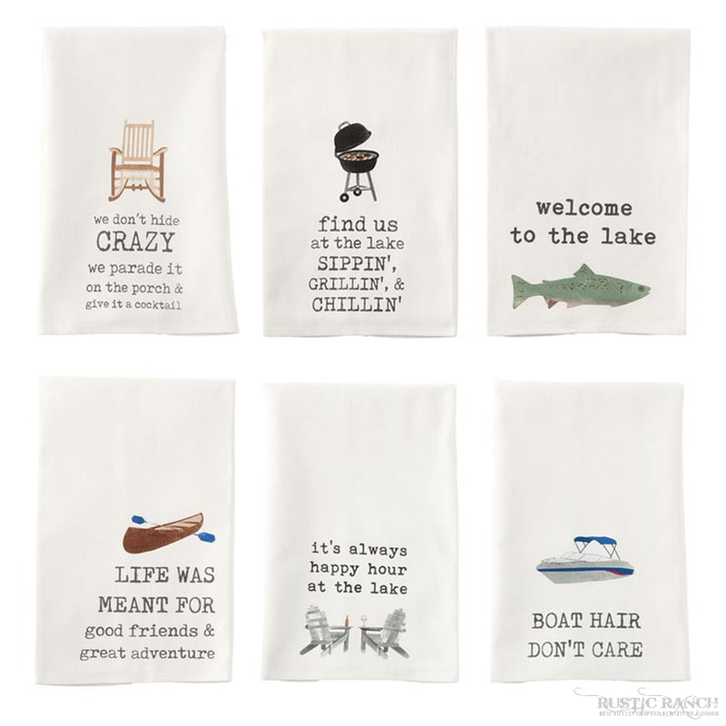 FUNNY COOKING TOWELS