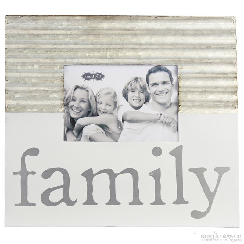 FAMILY CORRUGATE FRAME-Rustic Ranch