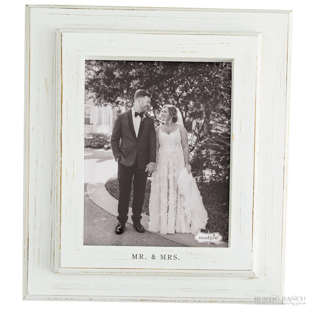 8X10 MR & MRS FRAME-Rustic Ranch