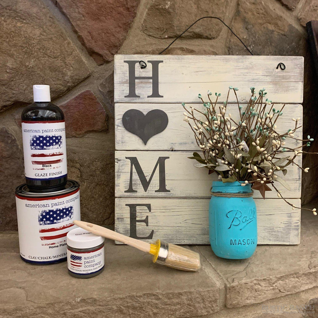 HOME PALLET SIGN DIY AT HOME WORKSHOP-Rustic Ranch