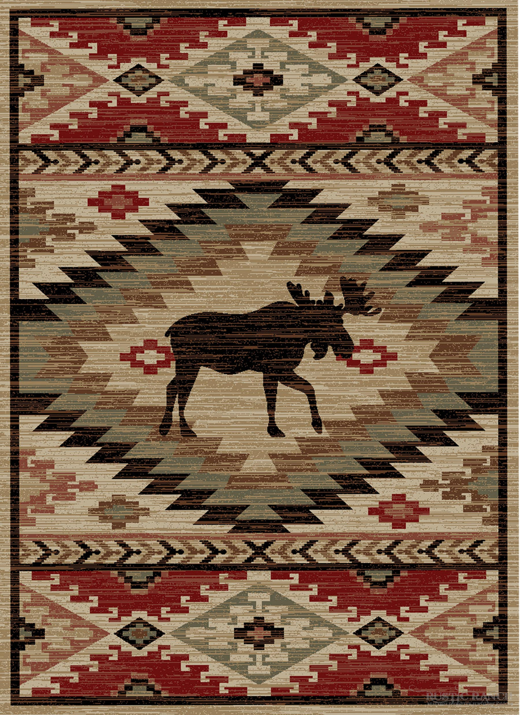 HIGH COUNTRY 5X8 RUG-Rustic Ranch