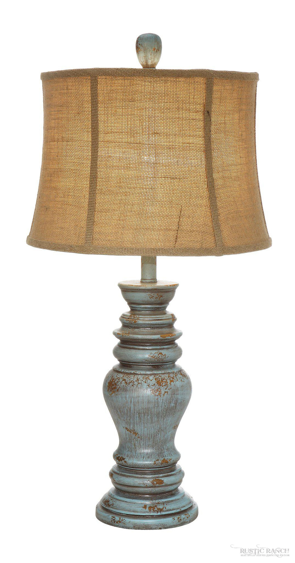 BARCLAY TABLE LAMP-Rustic Ranch