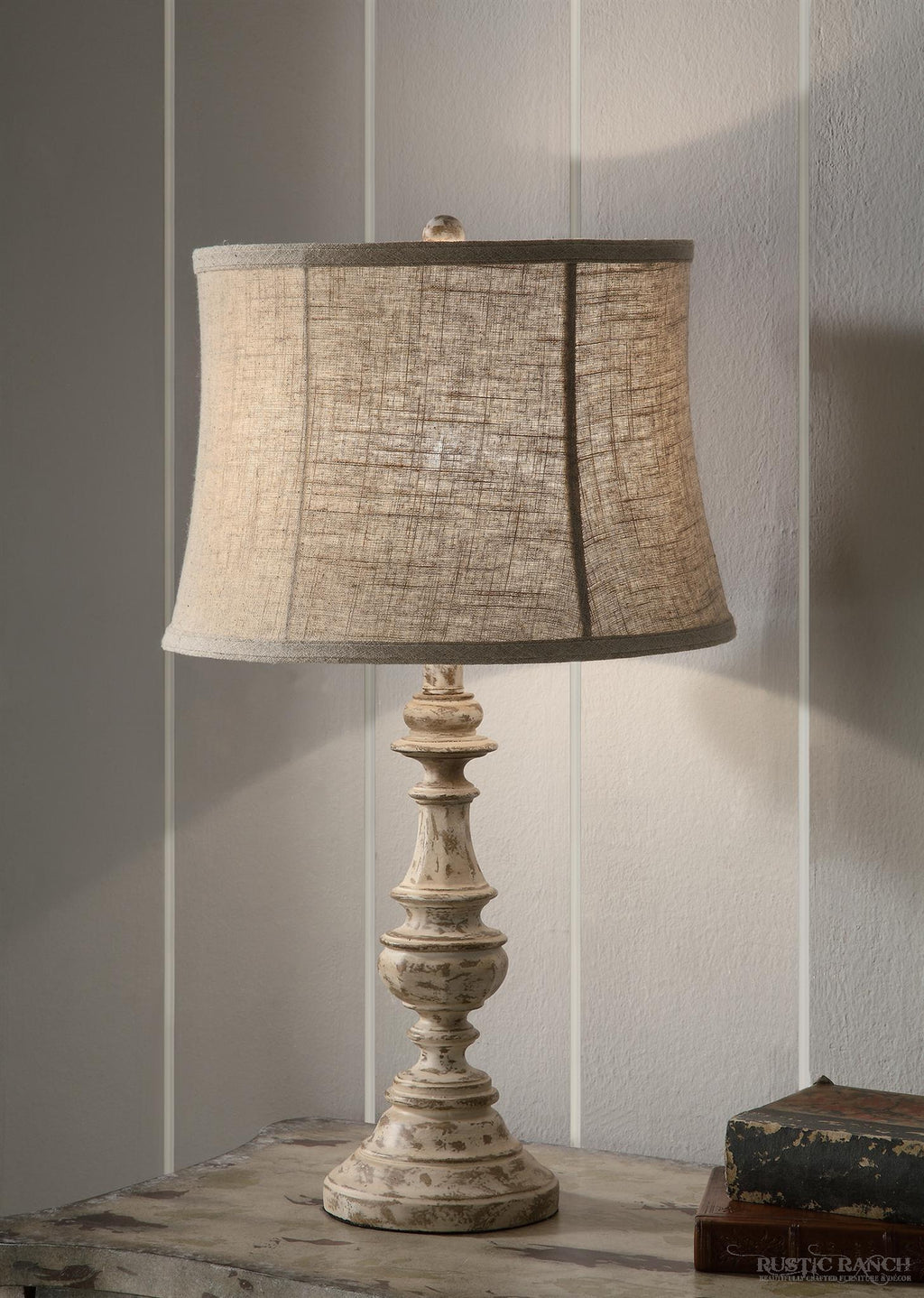 CUNNINGHAM TABLE LAMP-Rustic Ranch