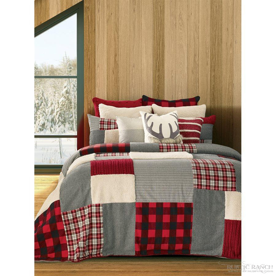 BUCK QUEEN QUILT-Rustic Ranch