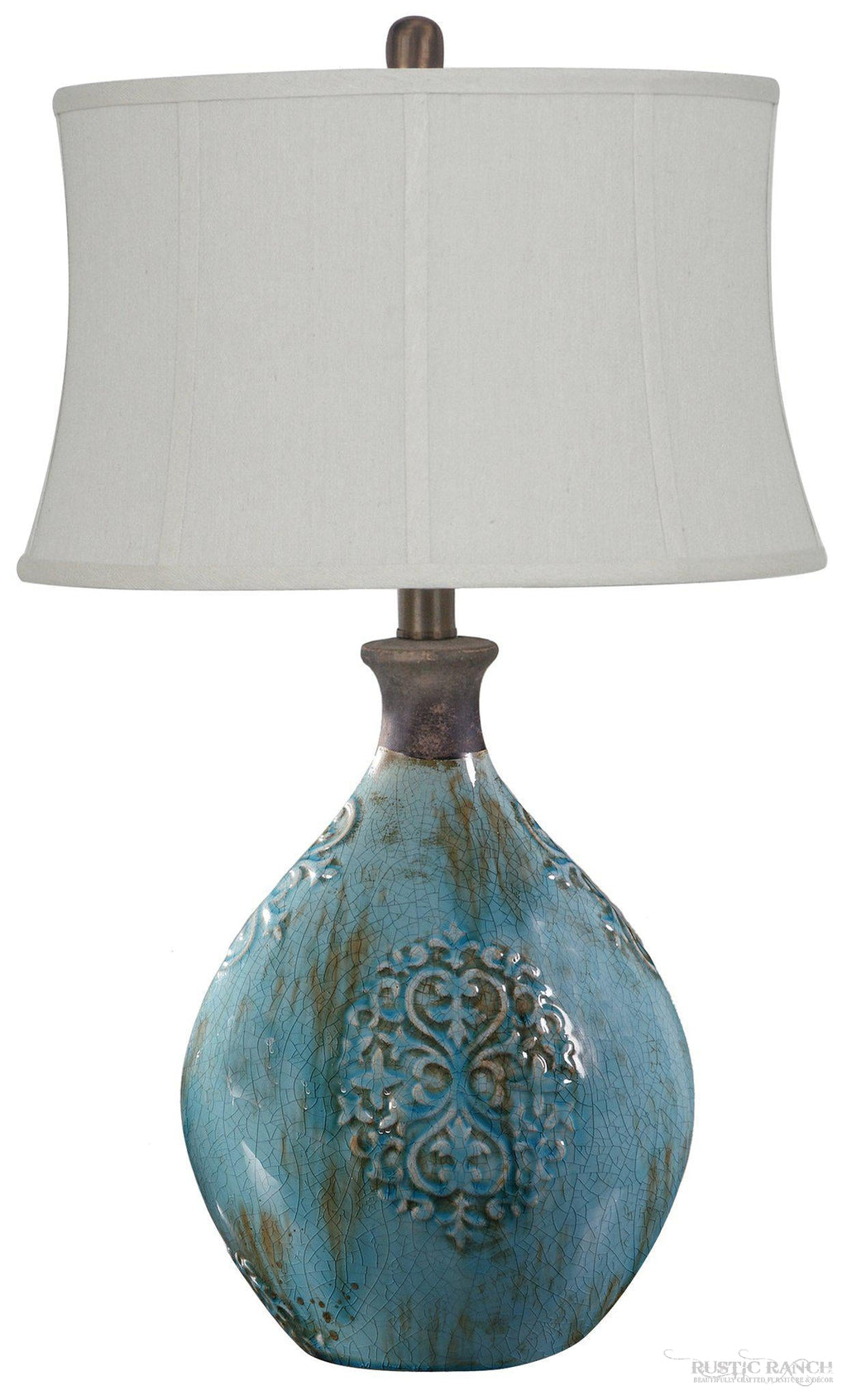 Linnet Table Lamp-Rustic Ranch
