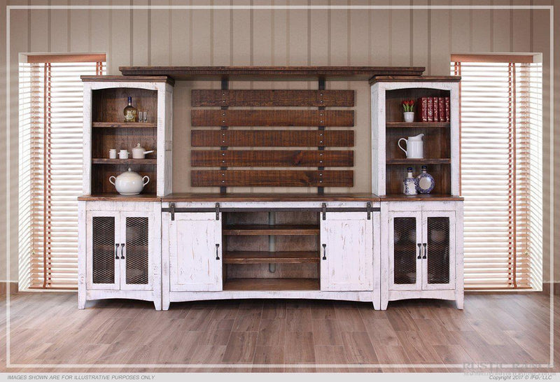 PUEBLO WHITE WALL UNIT-Rustic Ranch