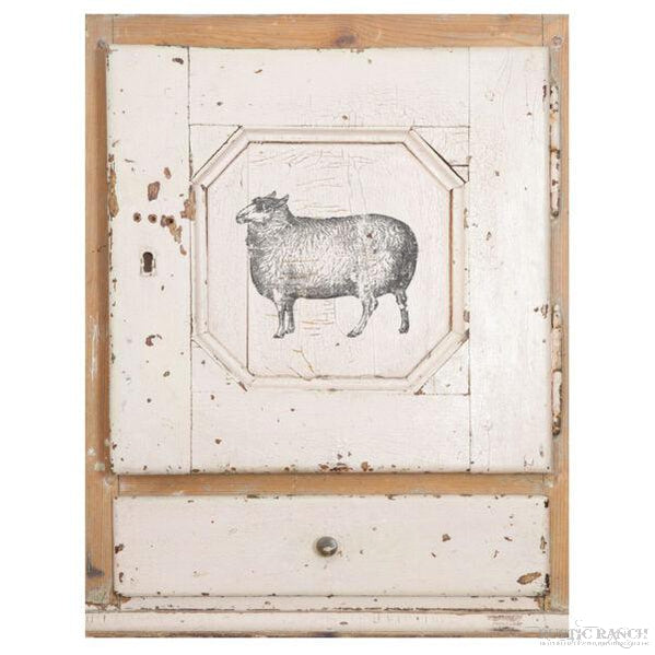 FARM ANIMALS DECOR STAMP-Rustic Ranch