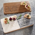 PREP & ENJOY FLIP BOARD BY MUD PIE-Rustic Ranch
