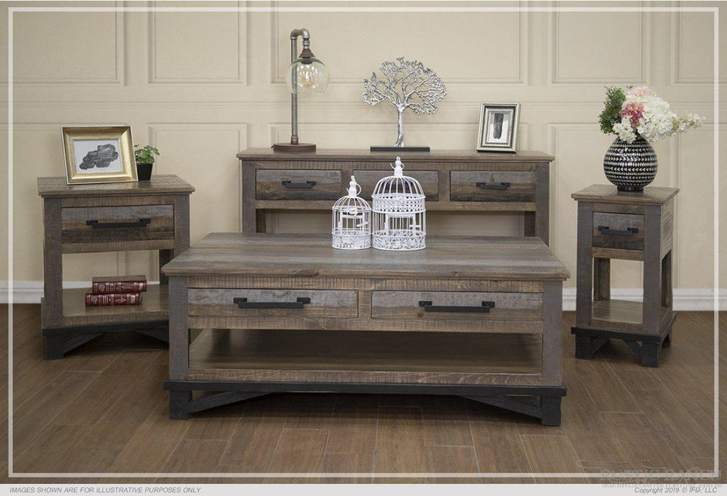 LOFT SOFA TABLE-Rustic Ranch