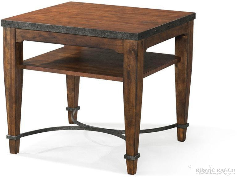 Pueblo Black End Table