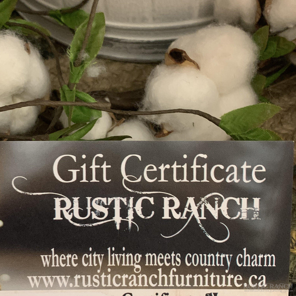 IN STORE GIFT CARD-Rustic Ranch