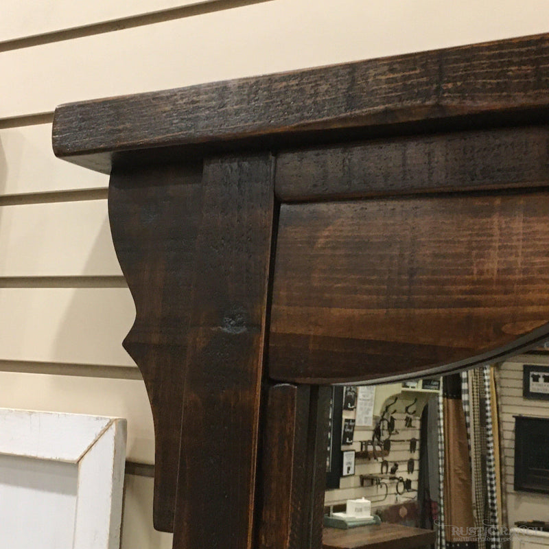 WOODLAND PARK DRESSER MIRROR-Rustic Ranch