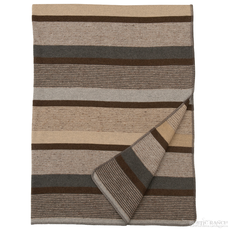 SANDSTONE THROW-Rustic Ranch