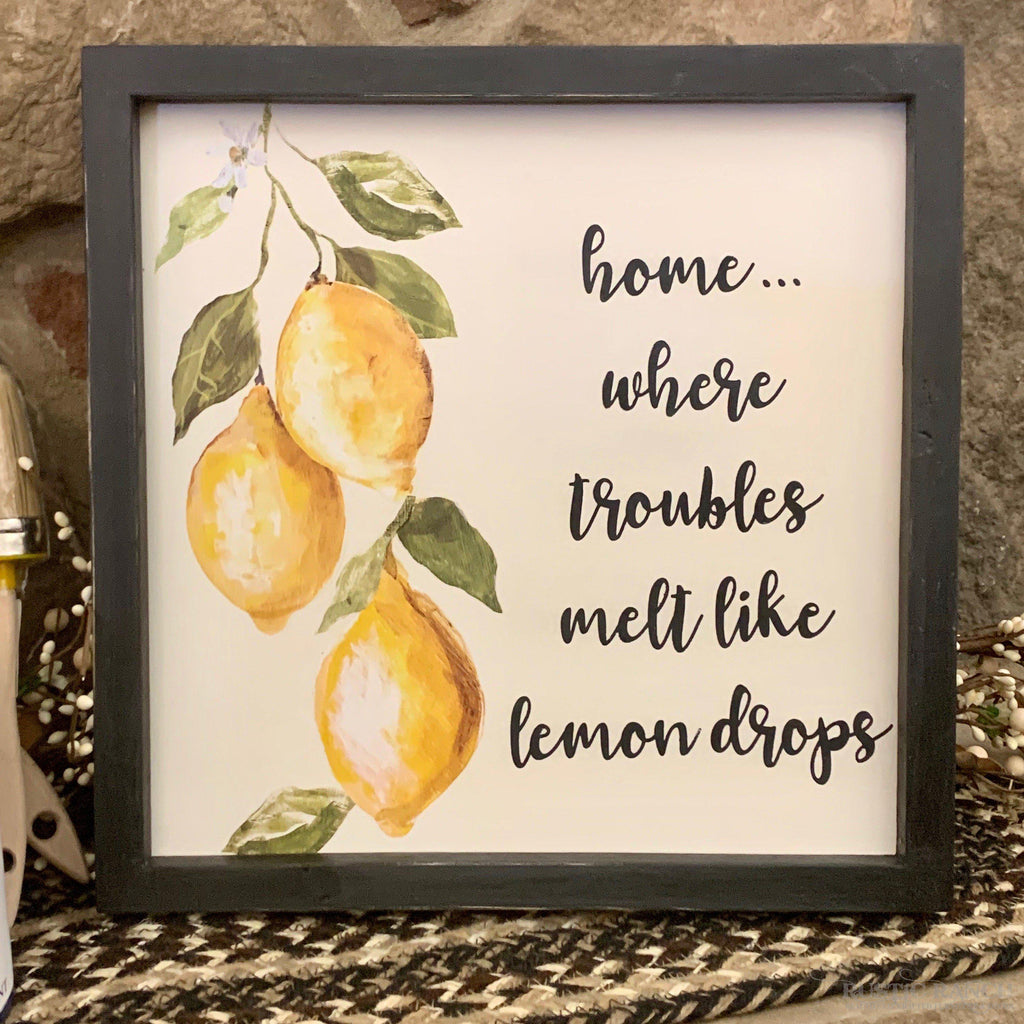LEMON DROPS TRANSFER DIY AT HOME KIT-Rustic Ranch