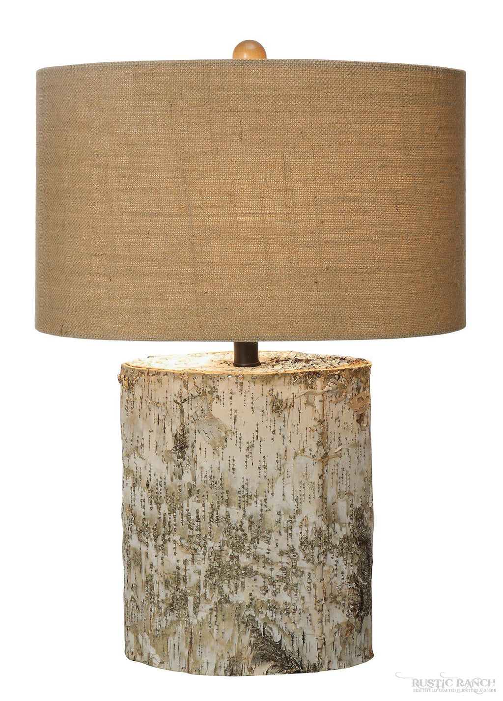BIRCHWOOD TABLE LAMP-Rustic Ranch