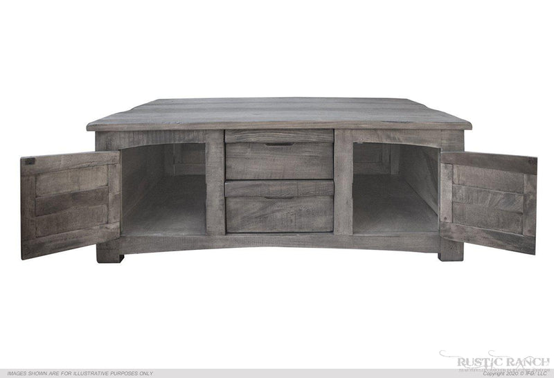 SAN ANTONIO COFFEE/COCKTAIL TABLE-Rustic Ranch