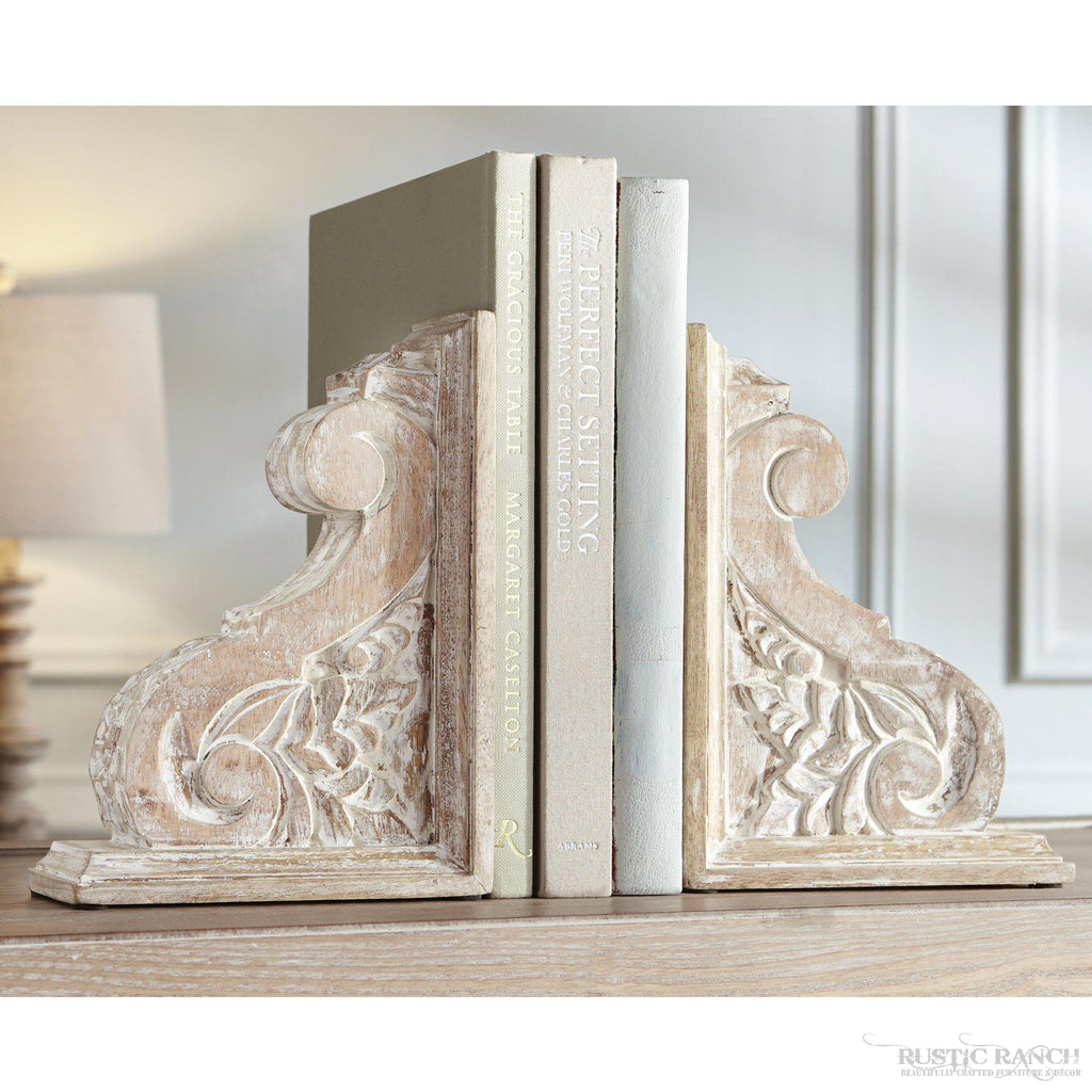 CARVED WOOD CORBEL-Rustic Ranch
