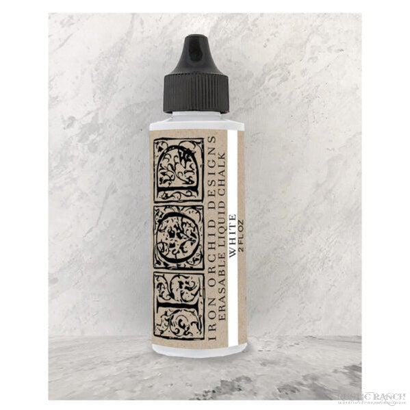 WHITE ERASABLE LIQUID CHALK INK-Rustic Ranch