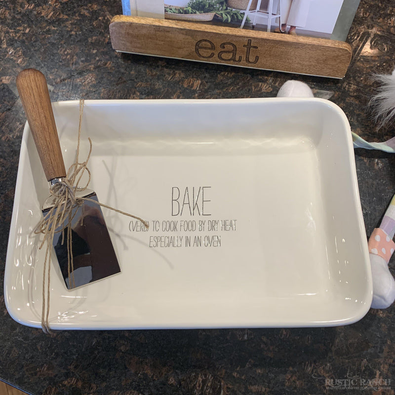 Bake Definition Dish Set-Rustic Ranch