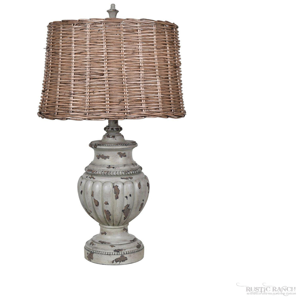 ADELINE TABLE LAMP-Rustic Ranch