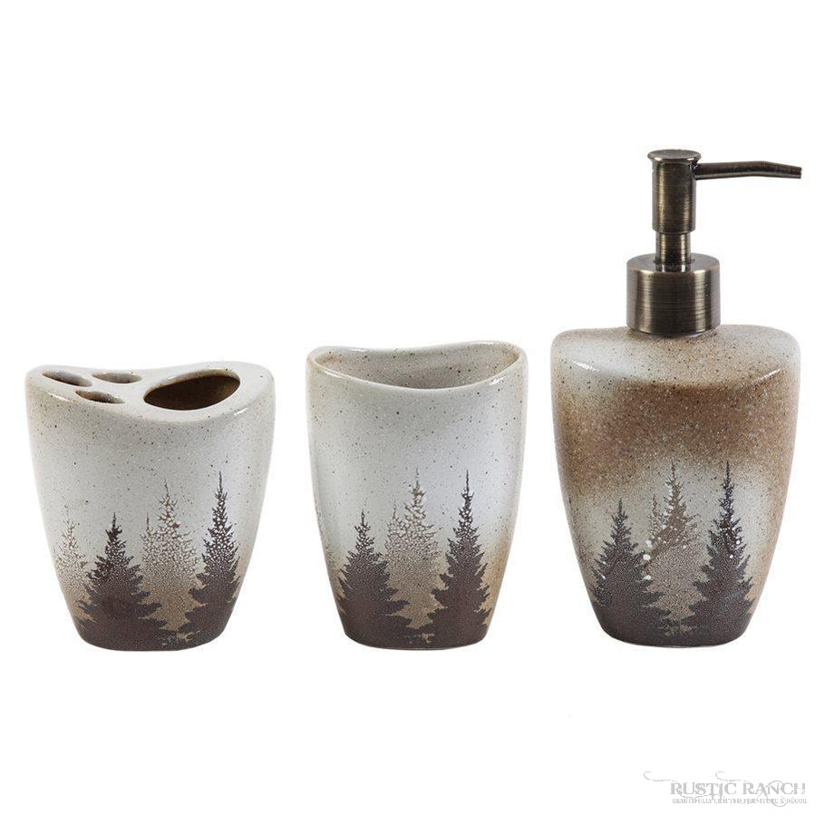 CLEARWATER 3 PC BATH SET-Rustic Ranch