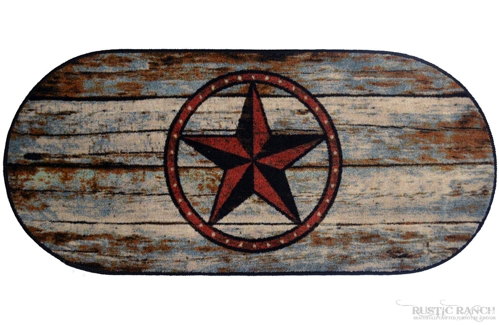 BARN STAR 20 X 44 RUG-Rustic Ranch