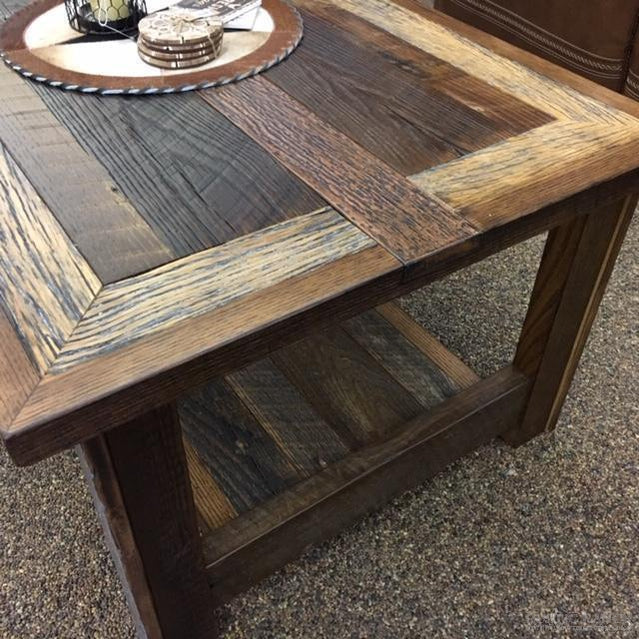 COPPERHEAD END TABLE-Rustic Ranch