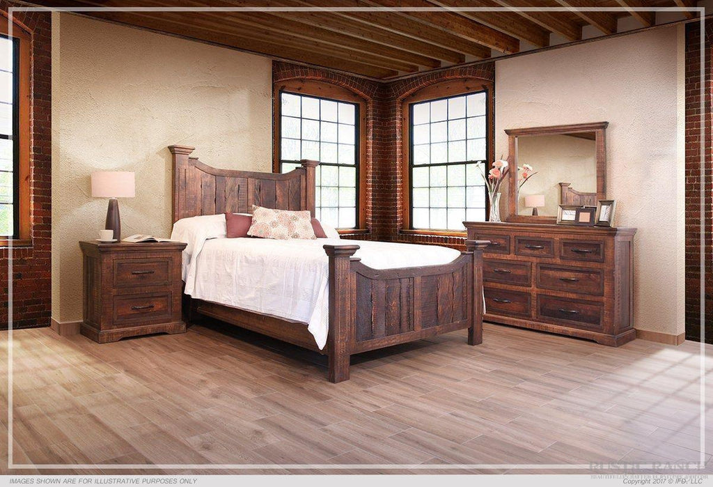 MADEIRA SEVEN DRAWER DRESSER-Rustic Ranch