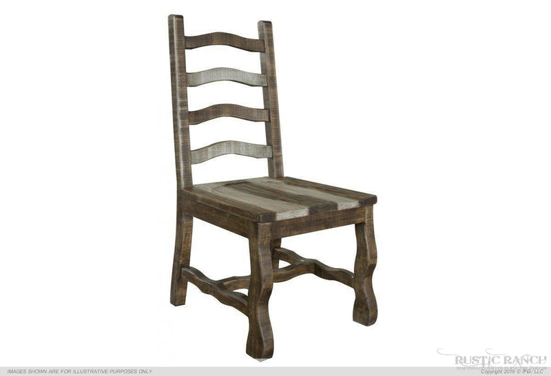 MARQUEZ WOODEN DINING CHAIR-Rustic Ranch