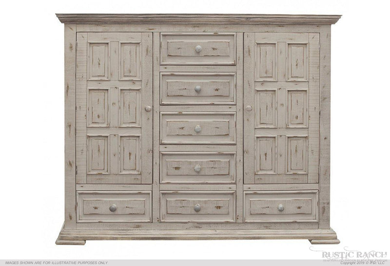 TERRA MULE CHEST - WHITE-Rustic Ranch