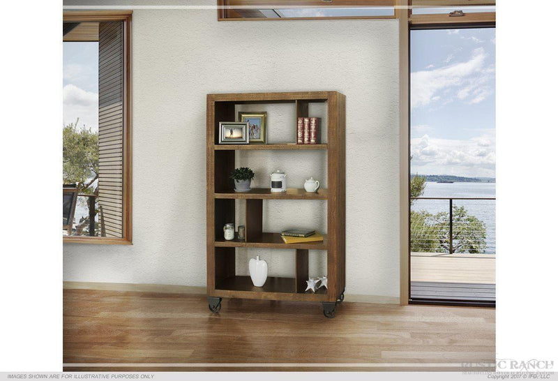 URBAN GOLD BOOKCASE-Rustic Ranch